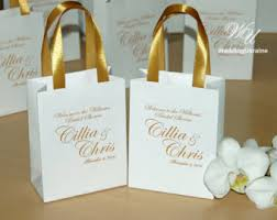 bridal party gift bags handmade bridal party gift etsy