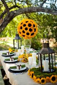 sunflower wedding decorations southern charm wedding centerpieces wedding ideas