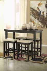 dining room stools kimonte rect dining room counter table 4 cream uph bar stools