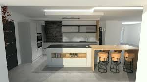 cuisine bois gris moderne cuisine bois massif moderne élégant emejing cuisine gris et bois