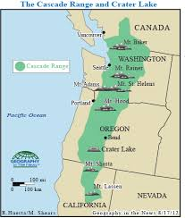 physical map of oregon juan de fuca plate geography in the news amazing crater lake national geographic