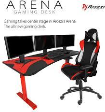 bureau gaming arozzi annonce bureau arena gaming modding fr