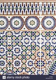 Moroccan Pattern Art Moroccan Wall by Close Up Detail Of Moroccan Wall Tiles Stock Photo Royalty Free