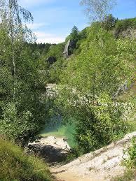 Baden Im Harz Rübeland Blauer See Im Harz Mapio Net