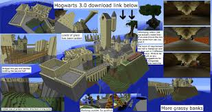 Forum Map Wip Hogwarts Map 3 0 Maps Mapping And Modding Java Edition
