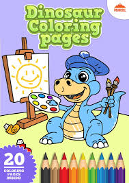 file dinosaur coloring pages printable coloring book for kids