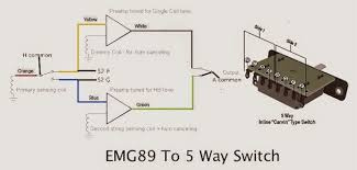 emg 89 straight to 5 way switch did you ever want to have an emg