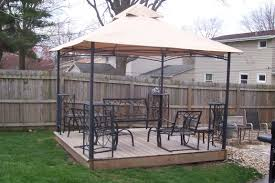 Garden Winds Pergola by Patios Threshold Madaga Gazebo Arrow Gazebo Replacement Canopy