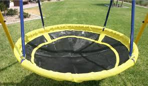 playground swing set toddler outdoor backyard kids ufo playset
