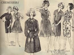 1962 fashion sketches