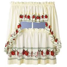 endearing curtain for simple kitchen design idea pretty kitchen