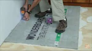 Preparing Bathroom Floor For Tiling Bathroom Flooring Options Flooring How To Videos And Tips At