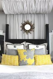 Painted Furniture Ideas Grey Yellow Room Themes And Gray - Grey and yellow bedroom designs