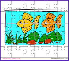free printable jigsaw puzzle game aquarium jigsaw puzzle