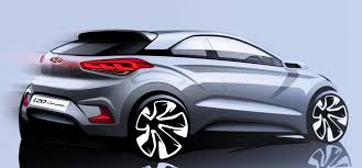 hyundai teases funky i20 coupe reminds us of the ford puma