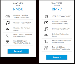 free nights and weekends prepaid lights these are the new xpax postpaid and prepaid plans soyacincau com
