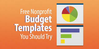 free budgets templates 13 free nonprofit budget templates you should try