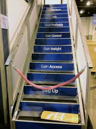 Stair Options by Double Deck Exhibit Rentals Custom Options
