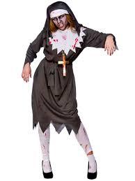 ladies evil satanic sister dead zombie nun halloween fancy dress