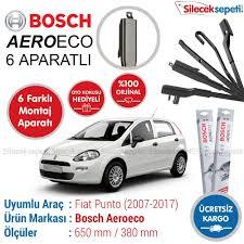 fiat silecek çeşitleri bosch aerotwin bosch silecek sistemleri