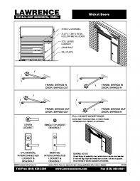 Overhead Roll Up Door Wicket Doors Roll Up Doors Inc Made In The Usa