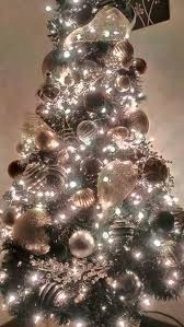 my tree 2015 black tree gold silver white and