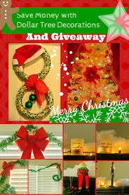 b is 4 save money with dollar tree christmas decorations giveaway