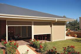 Track Guided Outdoor Blinds Outdoor Blinds Melbourne