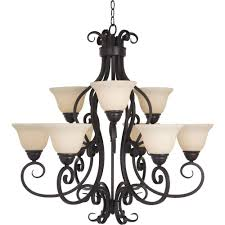 Home Depot Bronze Chandelier Maxim Lighting Manor 9 Light Oil Rubbed Bronze Chandelier