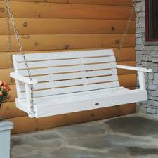 Patio Swing Folds Into Bed Shop Porch Swings U0026 Gliders At Lowes Com