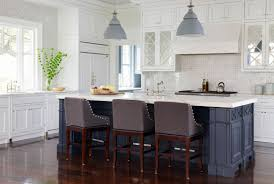 island in kitchen ideas design trend blue kitchen cabinets 30 ideas to get you started