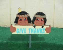 peanuts brown and snoopy thanksgiving yard signs