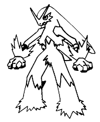 download pokemon coloring pages blaziken