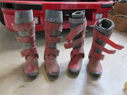 vintage motocross boots well they seemed like a good idea at the time moto related