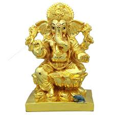 golden ganapati at rs 2500 pair ganesh ki murti bhairav fancy