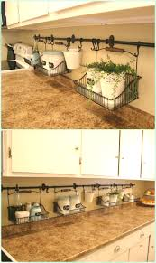How To Organize Your Kitchen Countertops Diy Space Saving Hacks To Organize Your Kitchen