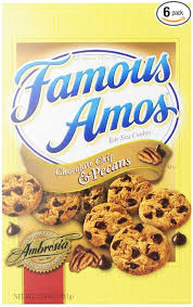 keebler famous amos chocolate chip and pecans cookies 12 4 oz