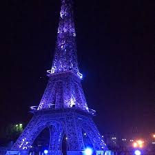 eiffel tower christmas lights eiffel tower picture of 7 wonders kota tripadvisor