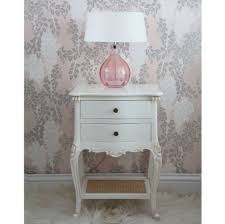 Bedside Table Lamp by Bedroom Amusing High White Bedside Table In White Background With