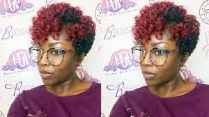 crochet natural hair styles salons in dc metro area how to twa crochet curlkalon hair review youtube