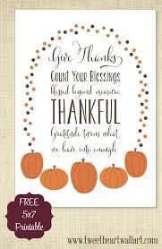 give thanks a free thanksgiving printable for you tweetheartwallart