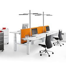 Office Desk System Height Adjustable Desk All Architecture And Design Manufacturers