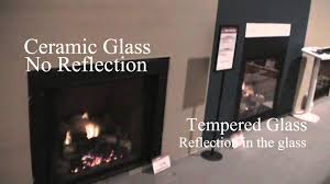 tempered vs ceramic glass on a directvent fireplace youtube