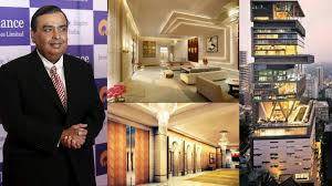 10 pictures showing the inside look of mukesh ambani house antilia
