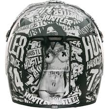 motocross helmet light amazon com rockhard 0801 524 hustler volume 3 mx helmet large