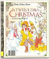 twelve days of golden book golden books