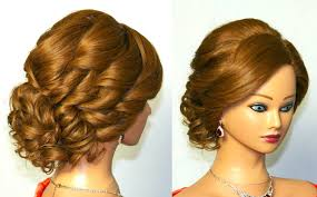 layered haircuts for long curly hair bridal curly updo hairstyle for medium hair youtube