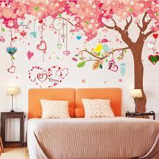online get cheap cherry blossom wall art stickers aliexpress com cherry blossom fashion wall sticker european style bar art home decor living room w 40