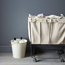 Canvas Laundry Hamper by Fresh Start The Laundry Room Eyeswoon