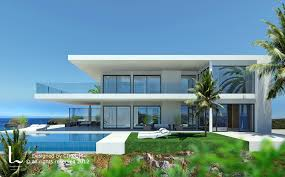 DHM Design Villa In La Alqueria La Alqueria Marbella Spain - Exterior design homes